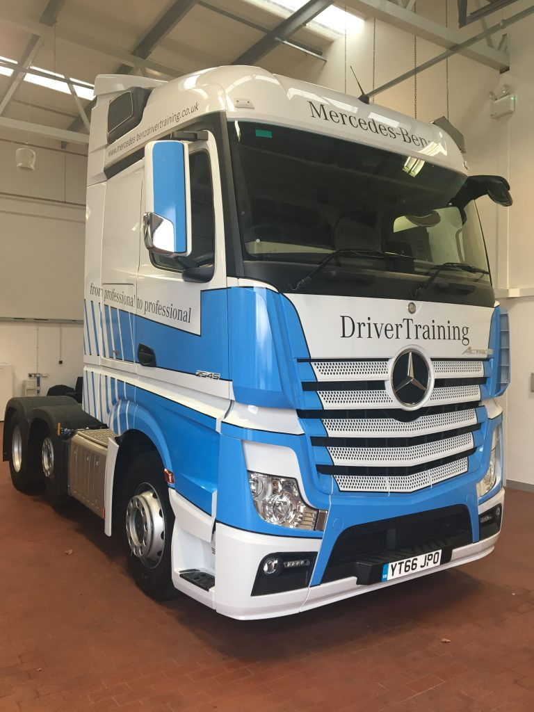 Truck Graphics For Mercedes Benz Drivertraining